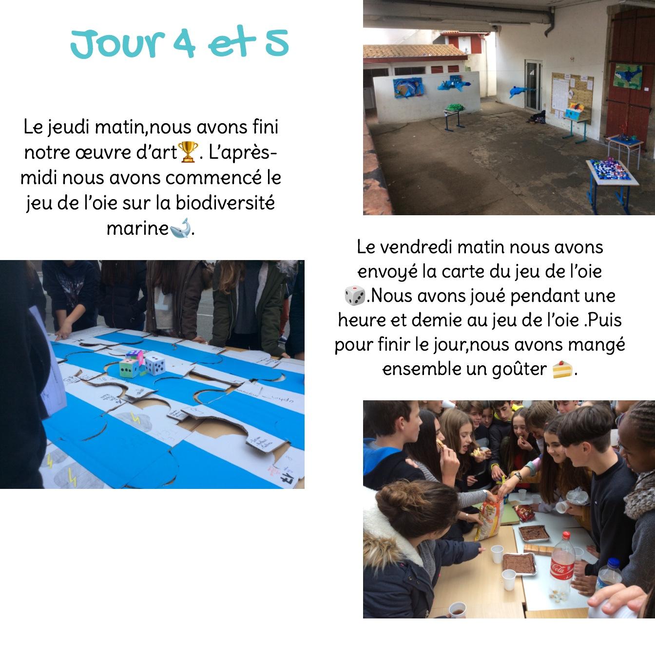 Journal de bord de Julen, Iñaki et Mohamed de 4ème - p5