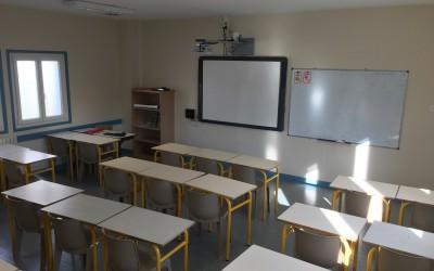 Rentrée 2017, les 8 classes du collège rénovées