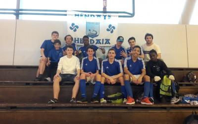 En route pour les championnats de France de futsal à Evry