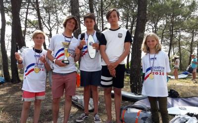 (Français) Champions de FRANCE UNSS de SURF